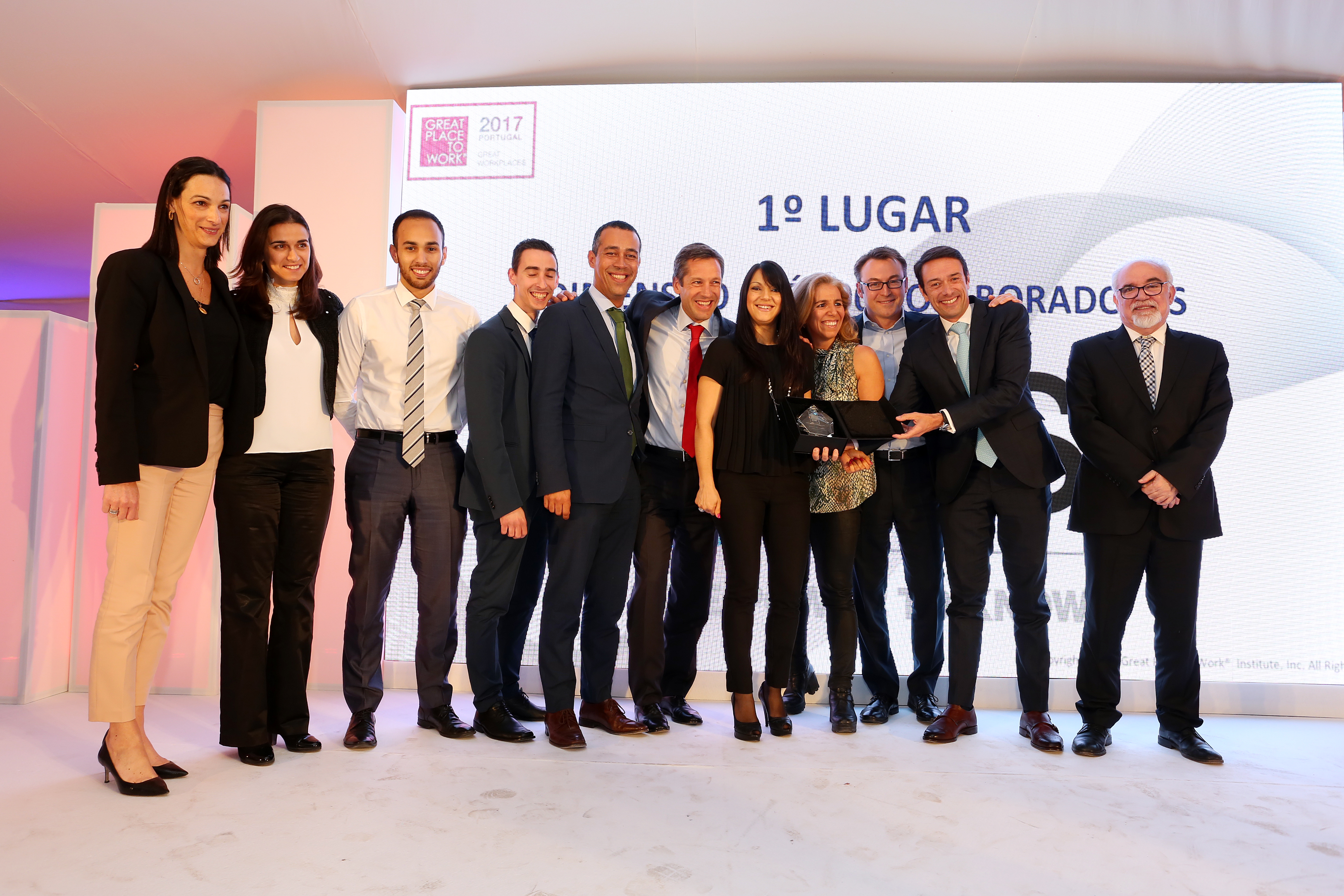 "SAS Portugal volta a ganhar prémio ""Great Place to Work"""