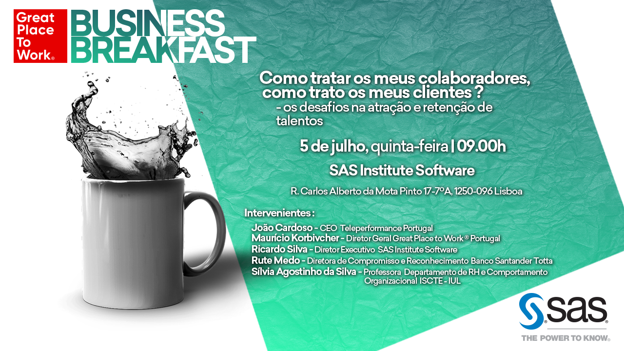BUSINESS BREAKFAST REDES SOCIAIS