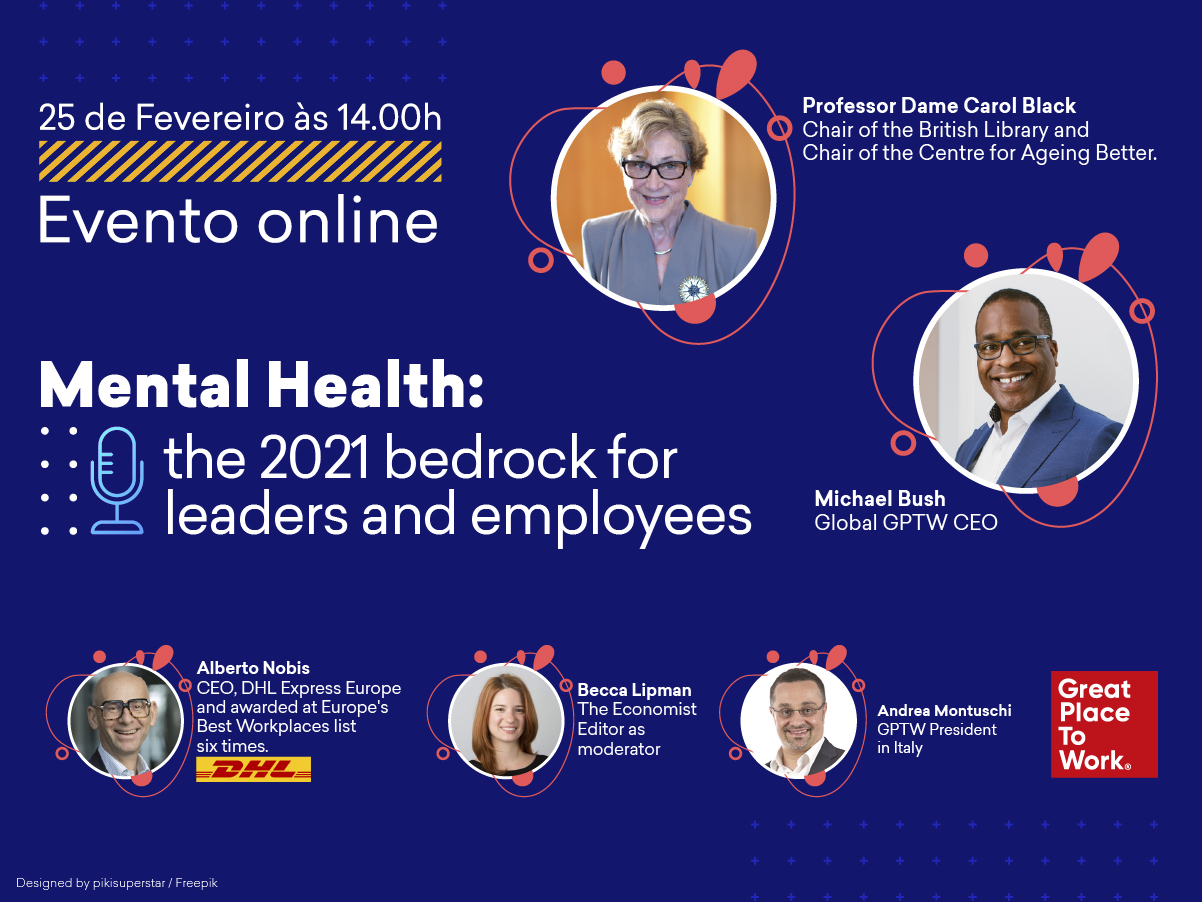 Mental Health: The 2021 Bedrock for Leaders and Employees