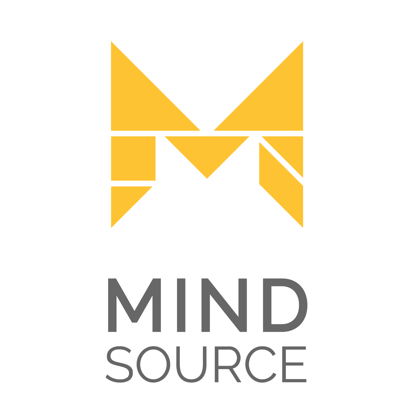 Logotipo Mind Source vertical
